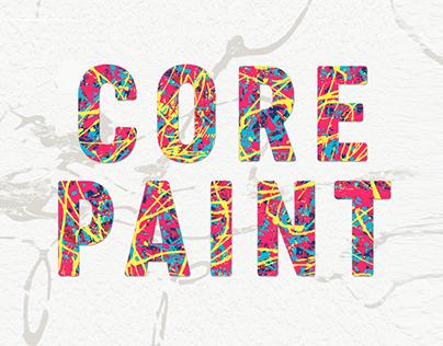 Core Paint_Font Family