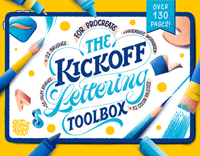 The KickOff Lettering Toolbox + Free Sample Set