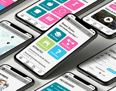 App design : Bordeaux métropole