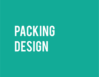 Packing Design - Protein Bar