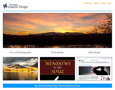 Artistic Imposter Design 2020 Rebuild and Redesign