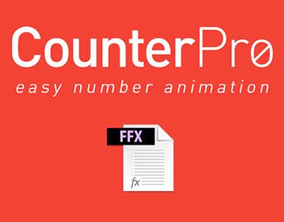 CounterPro - Free AE Preset