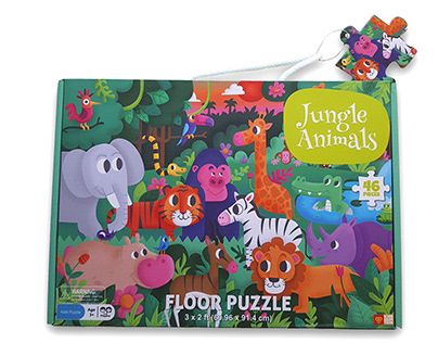 Jungle animals Puzzle