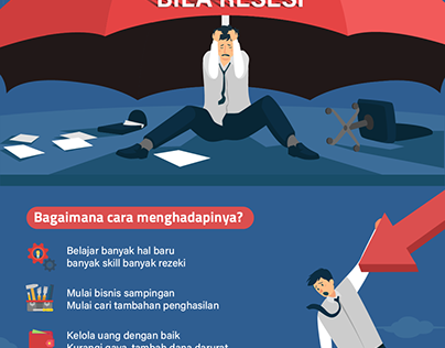 Recession preparation infographic