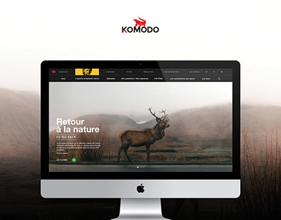 Webdesign / Identité - Komodo