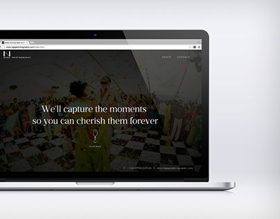 Ngagephotography site redesign