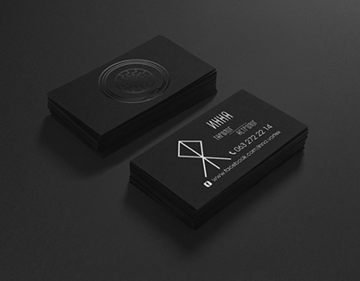 Business Cards with UV-varnish