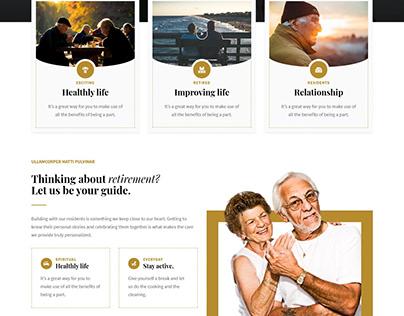 Beautiful Retirement Community WordPress Theme