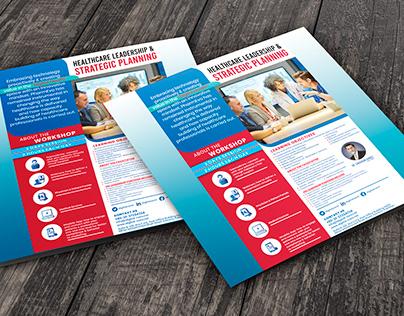 Workshop Poster Design || Flyer Design || Mockup Design