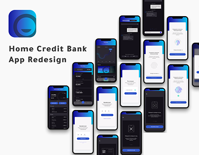 Home Credit Bank Redesign