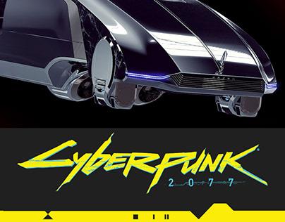 CYBERPUNK 2077, Rayfield EXCALIBUR AV 3D concept