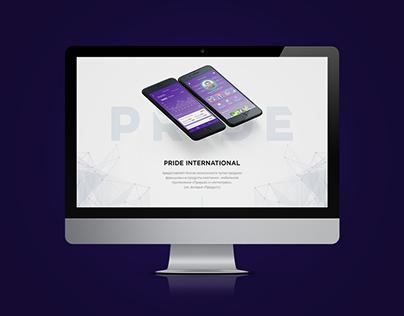 Pride International - Main site