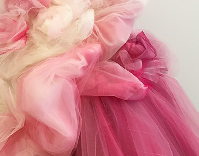 Sculptural Tulle Skirt