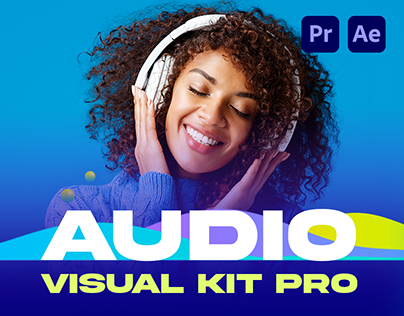 Audio Visual Kit | After Effects, Premiere template