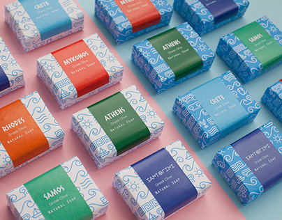 Greek Soap Packaging & Product Design