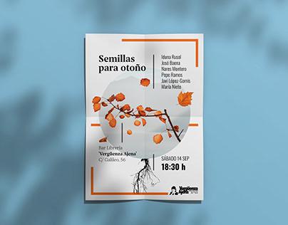 Poster Design — Semillas para otoño