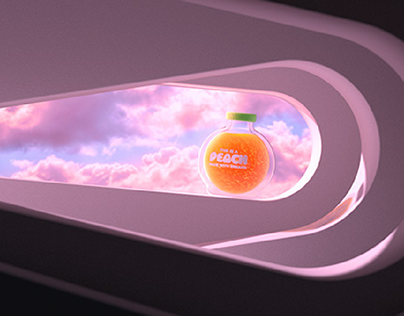 A Peach made with dreams - 3D Ident