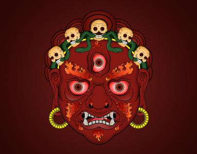 Mahakala (Digital Illustrations)