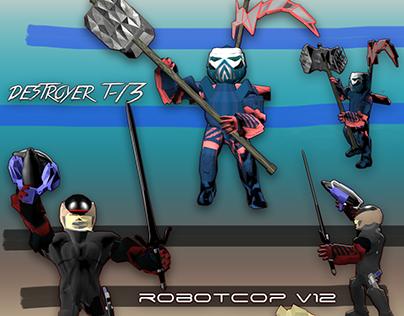 3D ROBOT: DESTROYER EDITON