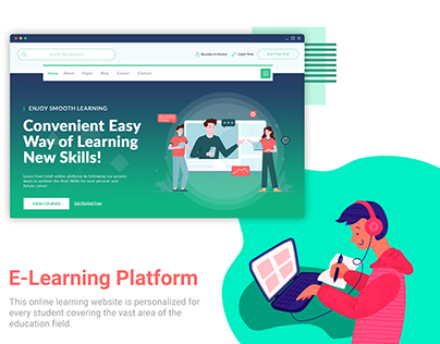 Website of Online Learning