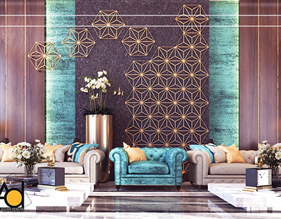 Men Majlis Design | Private Villa KSA