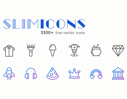 Slimicons Line Icons