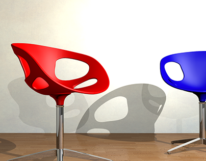 RIN Chair Modeling and Rendering 3D Tutorial
