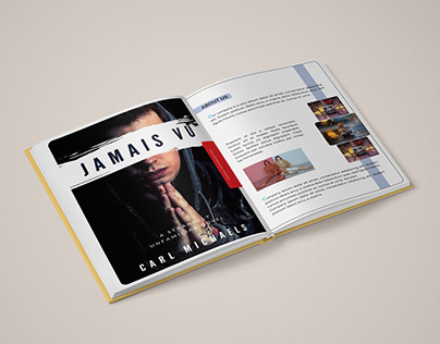 Square Book Page Design