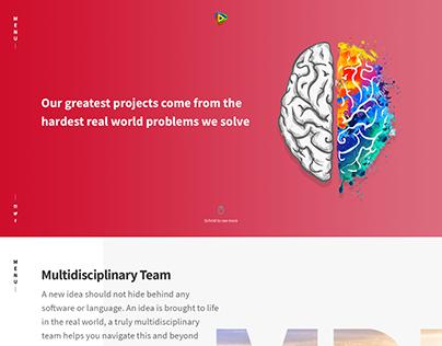 mDrift's Official Website Design