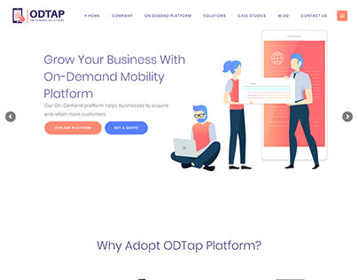 ODTAP Website Development