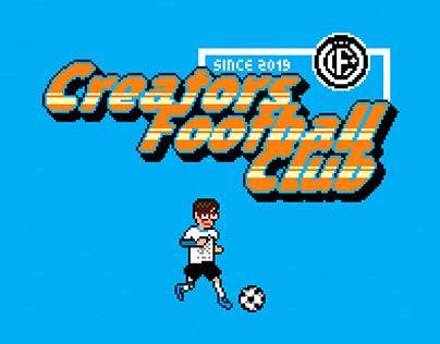 'Creators Football Club' / Pixel Art