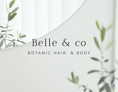 Belle & co   Logo identity
