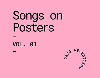 Songs On Posters | Vol. 01