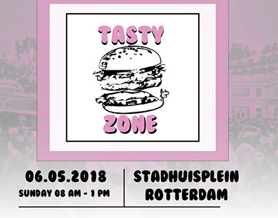 Tasty Zone Facebook Pop-Up Banner