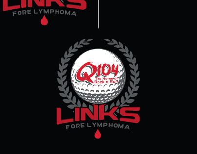 Q104 Links Fore Lymphoma Logo