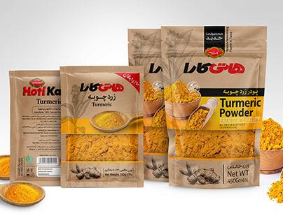 Turmeric packaging Design
