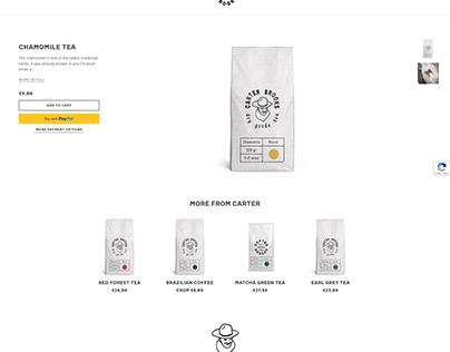 Chamomile tea (Product Page)