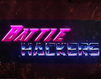 Battle Hackers Logo design