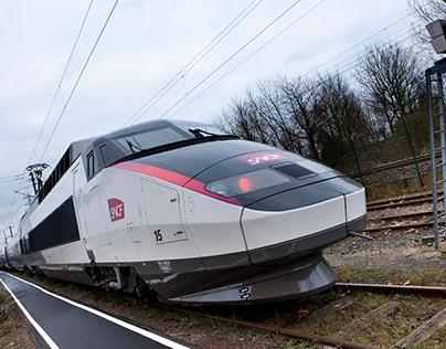 TGV Paris Rhin Rhône SNCF + COMPIN FAINSA