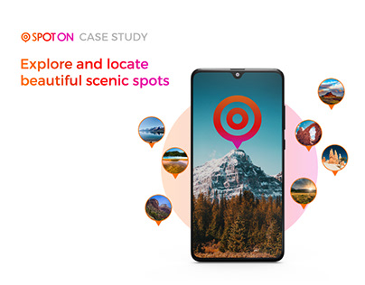 SPOT ON - a UX case study to locate scenic spots
