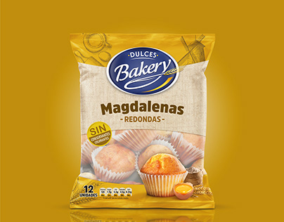 Packaging Magdalenas - Dulces Backery
