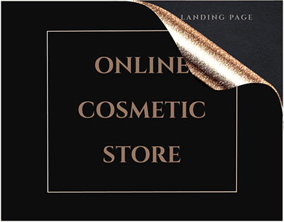 Online Cosmetic Store | Landing Page