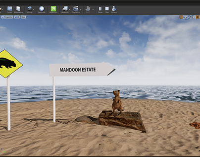 Interactive VR project