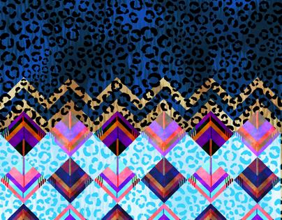 Leopard Prism & Leopard Geo leggings