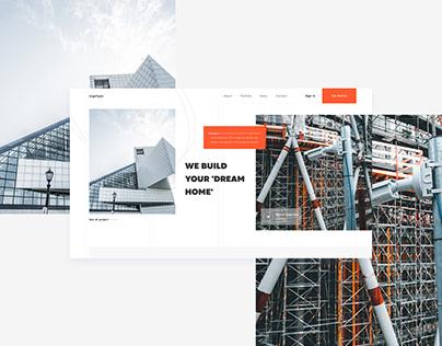 Construction Company | Design Concept