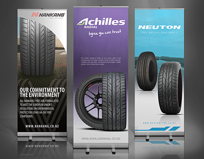 Various Pull Up Banners