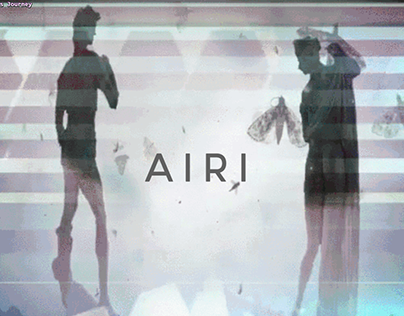 Airi website - an all-female artist collective