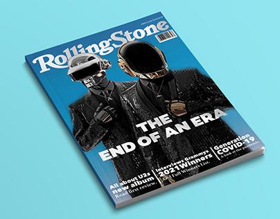 Rolling Stone Concept Cover Design