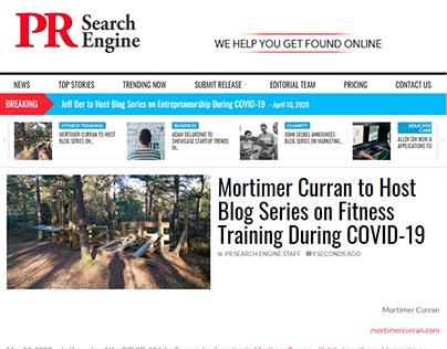 Blog Series Press Release