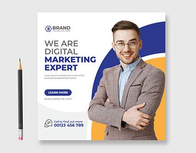 Business Agency Facebook, Instagram Post Design